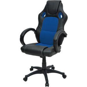 SIÈGE GAMING DRIFT Chaise gamer design baquet - Simili noir et
