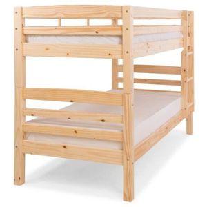 LITS SUPERPOSÉS HOOCK Lit superposé enfant contemporain en bois pi