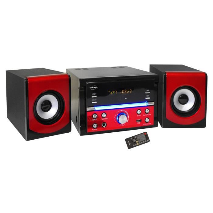 inovalley ch16cd r cha ne hifi lecteur cd chaine hi fi. Black Bedroom Furniture Sets. Home Design Ideas