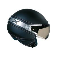 CASQUE MOTO SCOOTER Casque Jet scooter moto NEXX X60 Ice noir
