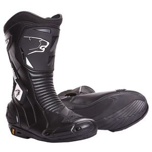 CHAUSSURE - BOTTE BERING Bottes Moto X Race R Noir