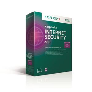 Kaspersky Internet Security 2015 MAJ (3postes/1an)