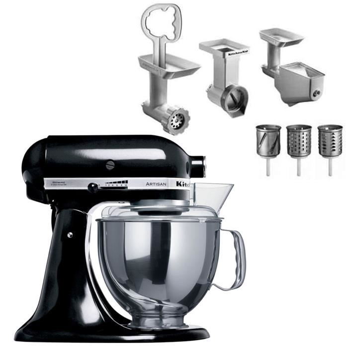 kitchenaid robot sur socle artisan 5ksm150pseob kit. Black Bedroom Furniture Sets. Home Design Ideas
