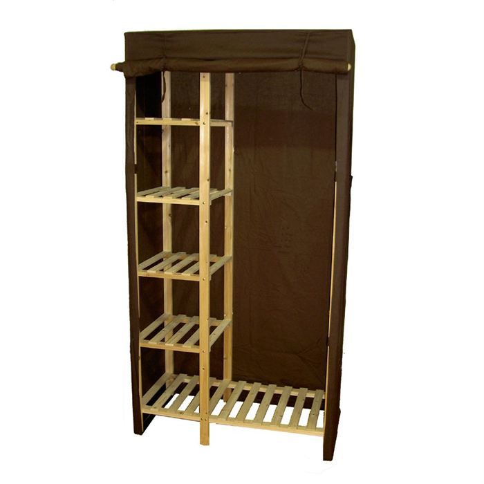 armoire penderie bois armoire penderie bois sur. Black Bedroom Furniture Sets. Home Design Ideas