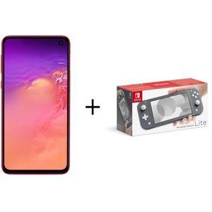 SMARTPHONE Samsung Galaxy S10e Rouge + Console Nintendo Switc