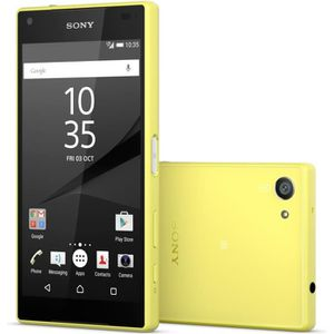 SMARTPHONE Sony Xperia Z5 Compact Jaune