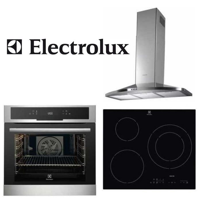 Pack electrolux encastrable four hotte plaque achat - Plaque induction hotte integree ...