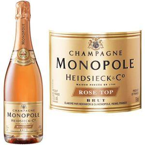 CHAMPAGNE Champagne Heidsieck Monopole Rosé - 75 cl