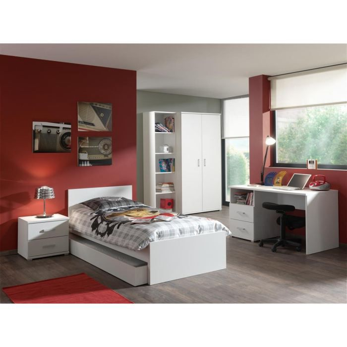 milan chambre compl te enfant 3 pi ces achat vente. Black Bedroom Furniture Sets. Home Design Ideas