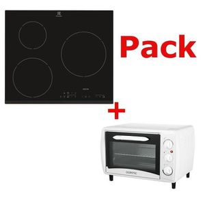 LOT APPAREIL CUISSON Pack Table induction + mini four