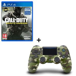 PACK ACCESSOIRE Call of Duty Infinite Warfare + Manette DualShock