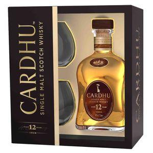 WHISKY BOURBON SCOTCH Cardhu 12 ans - Speyside Single Malt Scotch Whisky