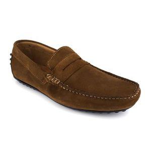 MOCASSIN JBRADFORD Chaussures Mocassins Jb-Rest Marron cogn