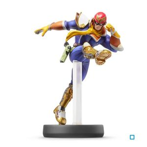 FIGURINE DE JEU Figurine Amiibo Super Smash Bros Captain Falcon N°