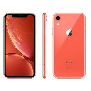SMARTPHONE APPLE iPhone Xr Corail 256 Go