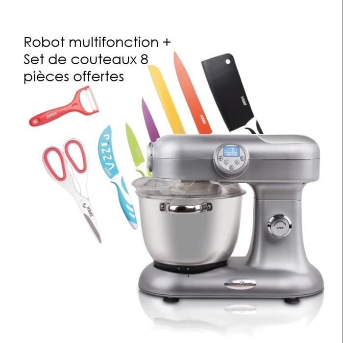 pack harper robot chauffant multifonction le parfait set 8 pi ces pour d coupe culinaire. Black Bedroom Furniture Sets. Home Design Ideas