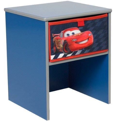 table enfant de chevet disney cars achat vente chevet cdiscount. Black Bedroom Furniture Sets. Home Design Ideas