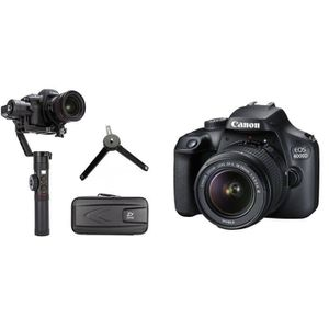 PACK APPAREIL RÉFLEX CANON EOS 4000D Appareil photo reflex + Objectif E