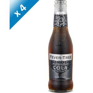 Soda - Thé glacé Fever-Tree - Madagascan Cola - Sodas - 4 x 20 cl