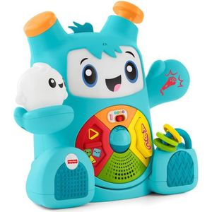 ROBOT - ANIMAL ANIMÉ FISHER-PRICE - Mon Ami Rocki - Robot Interactif So