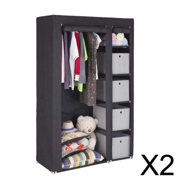 penderie tissu leroy merlin kit dressing chne naturel dressing star h x l x p cm with penderie. Black Bedroom Furniture Sets. Home Design Ideas