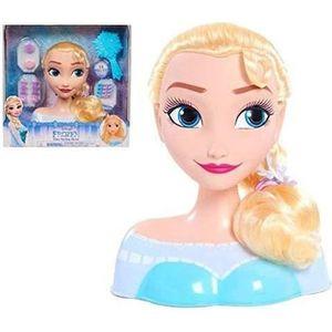 COIFFEUR - ESTHÉTIQUE Disney Princesses - Tête à Coiffer - Elsa