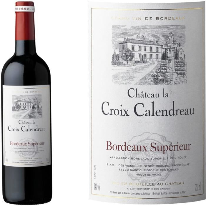 ch teau la croix calendreau 2012 bordeaux sup r achat vente vin rouge ch croix. Black Bedroom Furniture Sets. Home Design Ideas
