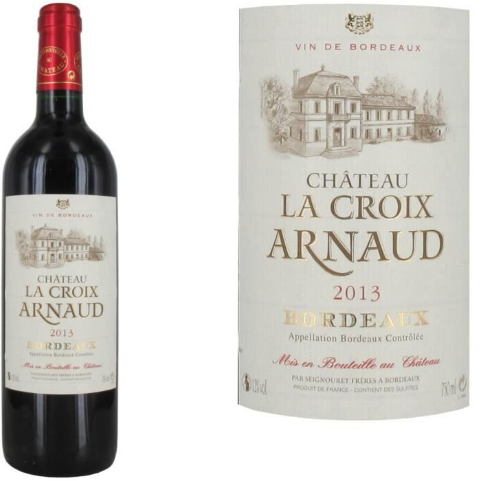 ch teau la croix arnaud 2013 bordeaux rouge achat vente vin rouge ch teau la croix arnaud. Black Bedroom Furniture Sets. Home Design Ideas