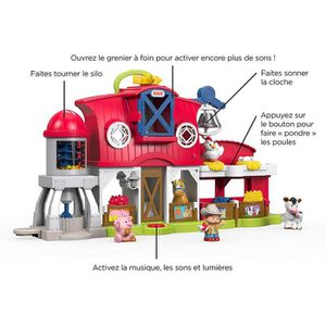 ferme little people achat vente jeux et jouets pas chers. Black Bedroom Furniture Sets. Home Design Ideas