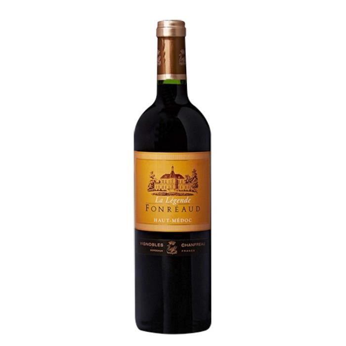 VIN ROUGE La Légende de Fonréaud 2014 Haut-Médoc Second Vin