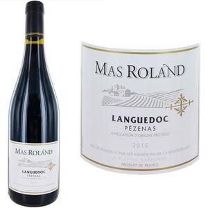 VIN ROUGE Mas Rolland 2015 Pezenas - Vin rouge du Languedoc