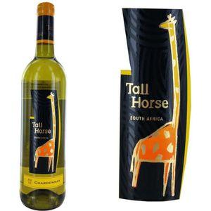 VIN BLANC Tall Horse Chardonnay Vin Blanc d'Afrique du Sud