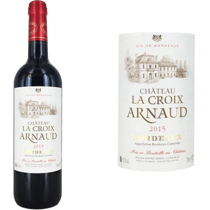 ch teau la croix arnaud bordeaux 2015 vin rouge achat vente vin rouge ch la croix arnaud. Black Bedroom Furniture Sets. Home Design Ideas