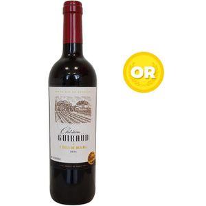 VIN ROUGE Château Guiraud 2016 Côtes de Bourg - Vin rouge de