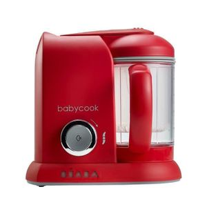 ROBOT BÉBÉ BEABA Robot Babycook Solo - Bébé mixte - Rouge