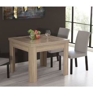 table extensible achat vente table extensible pas cher les soldes sur cdiscount cdiscount. Black Bedroom Furniture Sets. Home Design Ideas