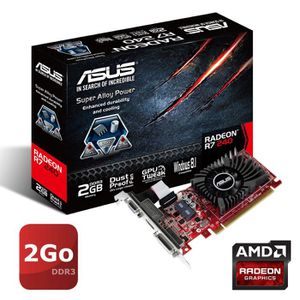 CARTE GRAPHIQUE INTERNE ASUS Carte Graphique NVIDIA GeForce® R7240-2GD3- -