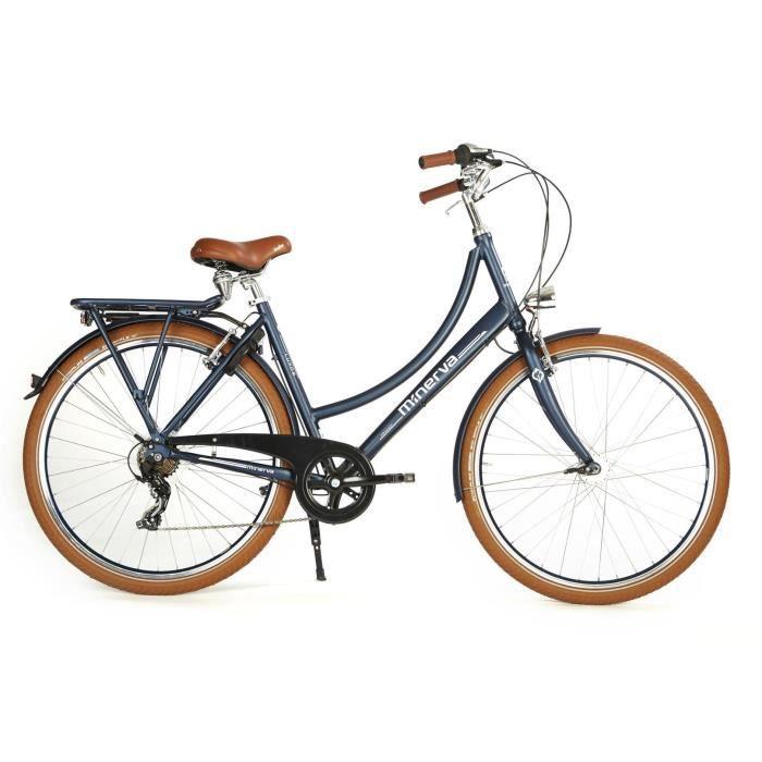 VÉLO DE VILLE - PLAGE Vélo de ville 28' - MINERVA - Cadre alu - 7 vitess