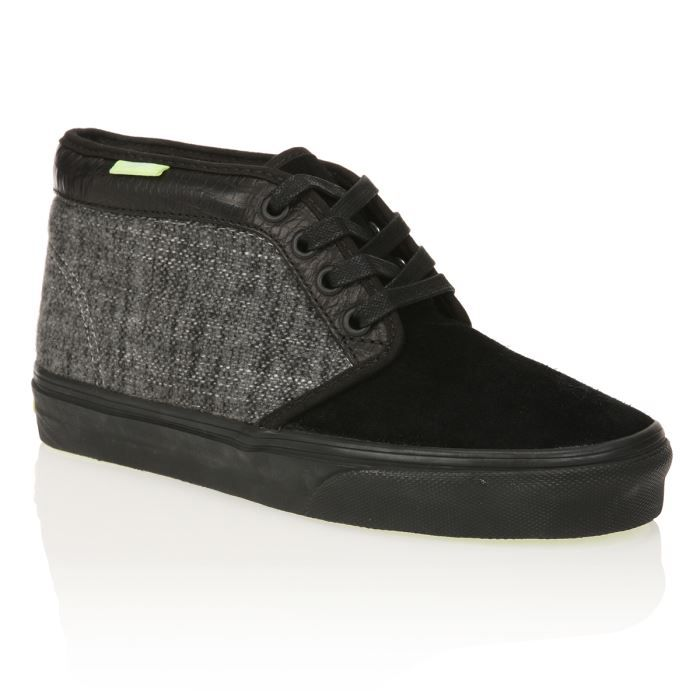 vans baskets chukka 79 homme homme noir gris achat vente vans basket chukka 79 homme homme. Black Bedroom Furniture Sets. Home Design Ideas