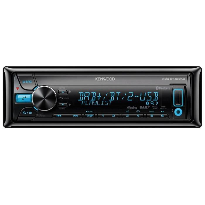 kenwood kdc bt48dab autoradio cd bluetooth dab achat. Black Bedroom Furniture Sets. Home Design Ideas