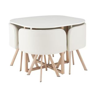 Table chaises achat vente table chaises pas cher for Table 4 personnes dimensions