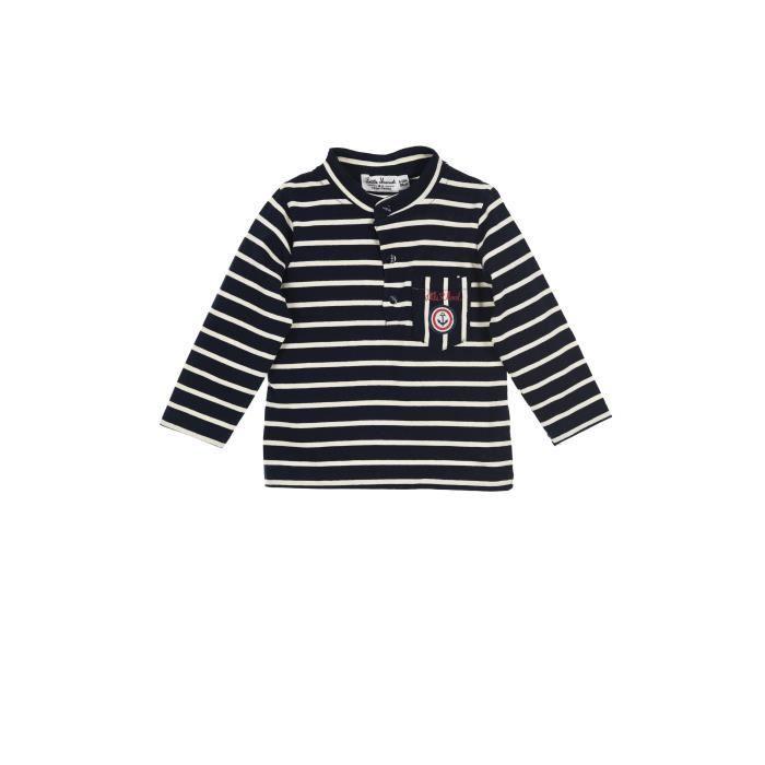 T-SHIRT LITTLE MARCEL T-shirt Bleu Foncé Bébé Garçon