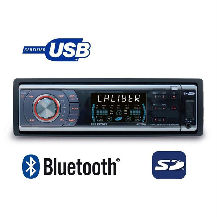 Download this Autoradio Caliber Rcddbt picture