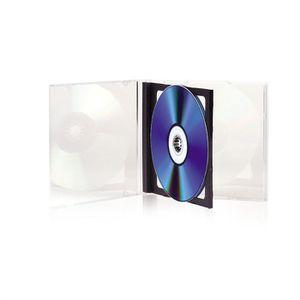 CD - DVD VIERGE TNB Pack de 5 boitiers CD transparents