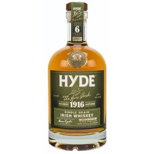 WHISKY BOURBON SCOTCH Hyde N°3 - Single Grain Irish Whiskey - Bourbon Ma