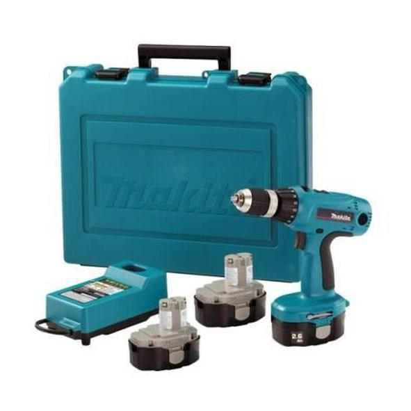 makita perceuse visseuse 6347dwde 18v 3 batteries achat. Black Bedroom Furniture Sets. Home Design Ideas