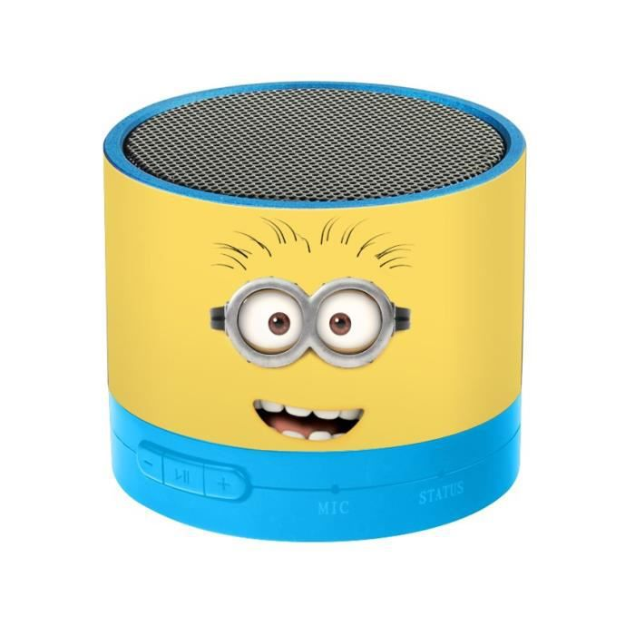mmm enceinte bluetooth minions lexibook achat vente radio cd enfant cdiscount. Black Bedroom Furniture Sets. Home Design Ideas