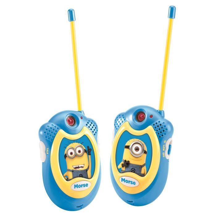 Les minions talkie walkie lexibook achat vente talkie for Piscine simulator flex