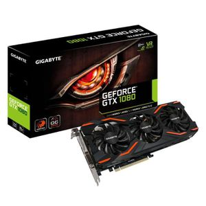 CARTE GRAPHIQUE INTERNE Gigabyte Carte graphique GeForce® GTX 1080 WINDFOR