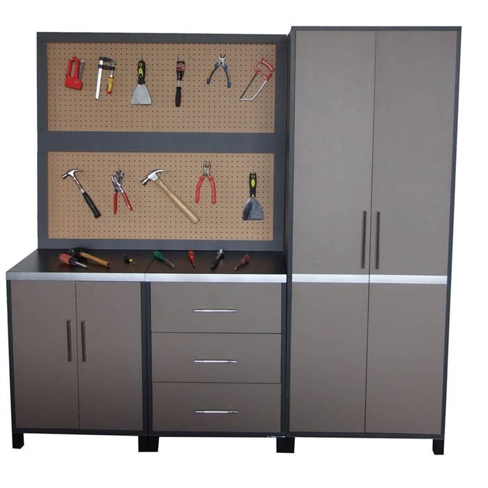 elem armoire de rangement etmdf5 achat vente etabli meuble atelier panneau de fibre. Black Bedroom Furniture Sets. Home Design Ideas
